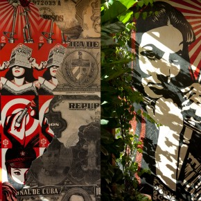 Custom Wall by American Contemporary Artist, Shepard Fairey