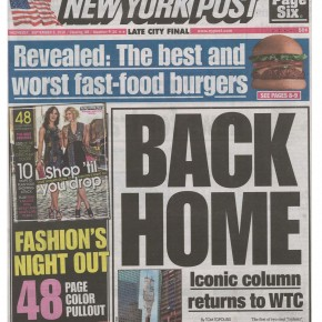 New York Post 9-8-2010